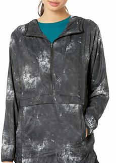 Hurley Women's Pullover Hoodie Winbreaker Rain Jacket  XS