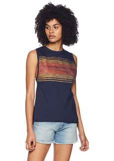 Hurley Women's Washed Muscle Tank Top  S