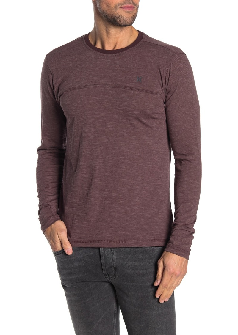 Hurley Knit Long Sleeve T-Shirt
