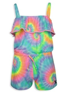 Hurley Lirttle Girl's Tie-Dye Romper