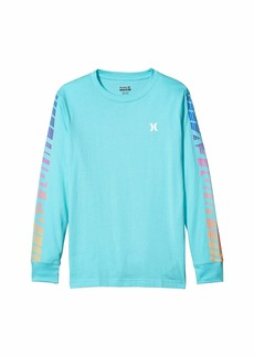 Hurley Long Sleeve Graphic T-Shirt (Big Kids)