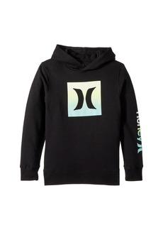 Hurley Ombre Icon Fleece Pullover Hoodie (Big Kids)