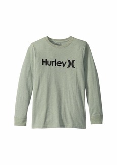 Hurley One and Only Long Sleeve Tee (Big Kids)