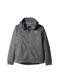 Hurley One and Only Therma Fit Full Zip Hoodie (Big Kids)