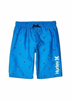 Hurley Pineapple/Toucan Pull-On Boardshorts (Big Kids)