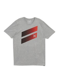 Hurley Premium Icon Slash Gradient Graphic T-Shirt