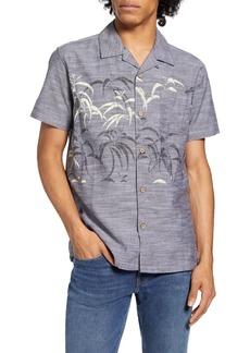 Hurley Regular Fit Short Sleeve Button-Down Shirt