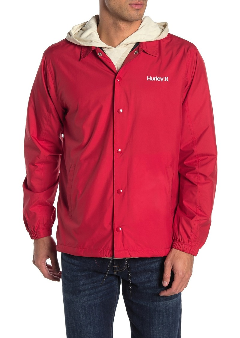 Hurley Siege Waterproof Coach Jacket