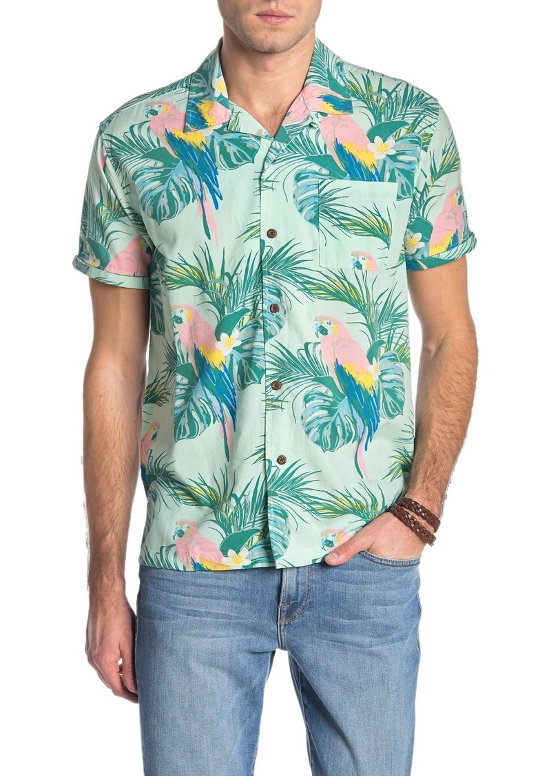 Hurley Sierra Printed Regular Fit Hawaiian Shirt