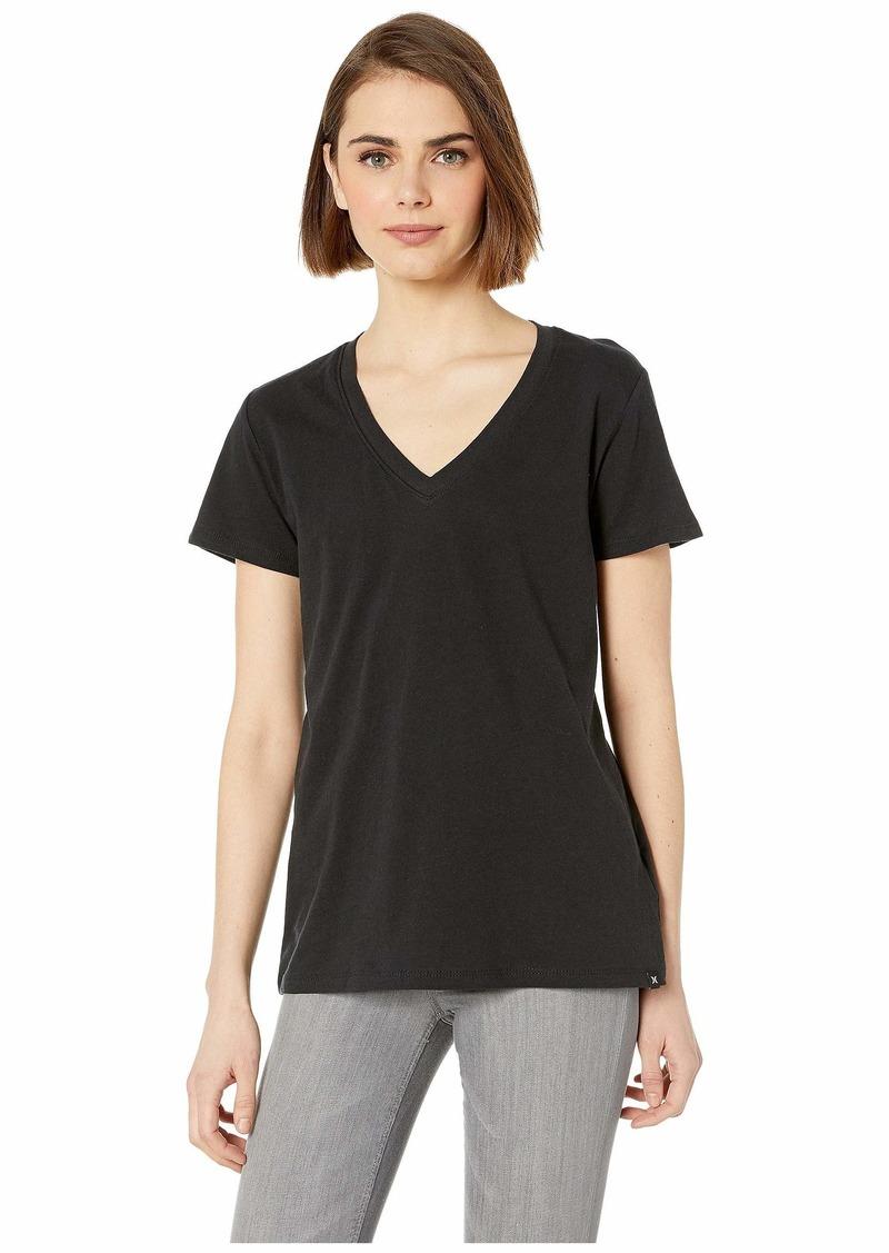 Hurley Solid Perfect V-Neck Tee Shirt