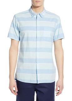 Hurley Stripe Block Woven Regular Fit Shirt