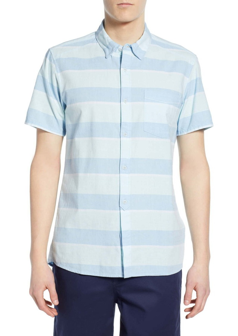Hurley Stripe Block Woven Regular Fit Shirt