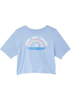 Hurley Surf and Enjoy Logo T-Shirt (Big Kids)