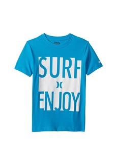 Hurley Surf and Enjoy Tee (Big Kids)