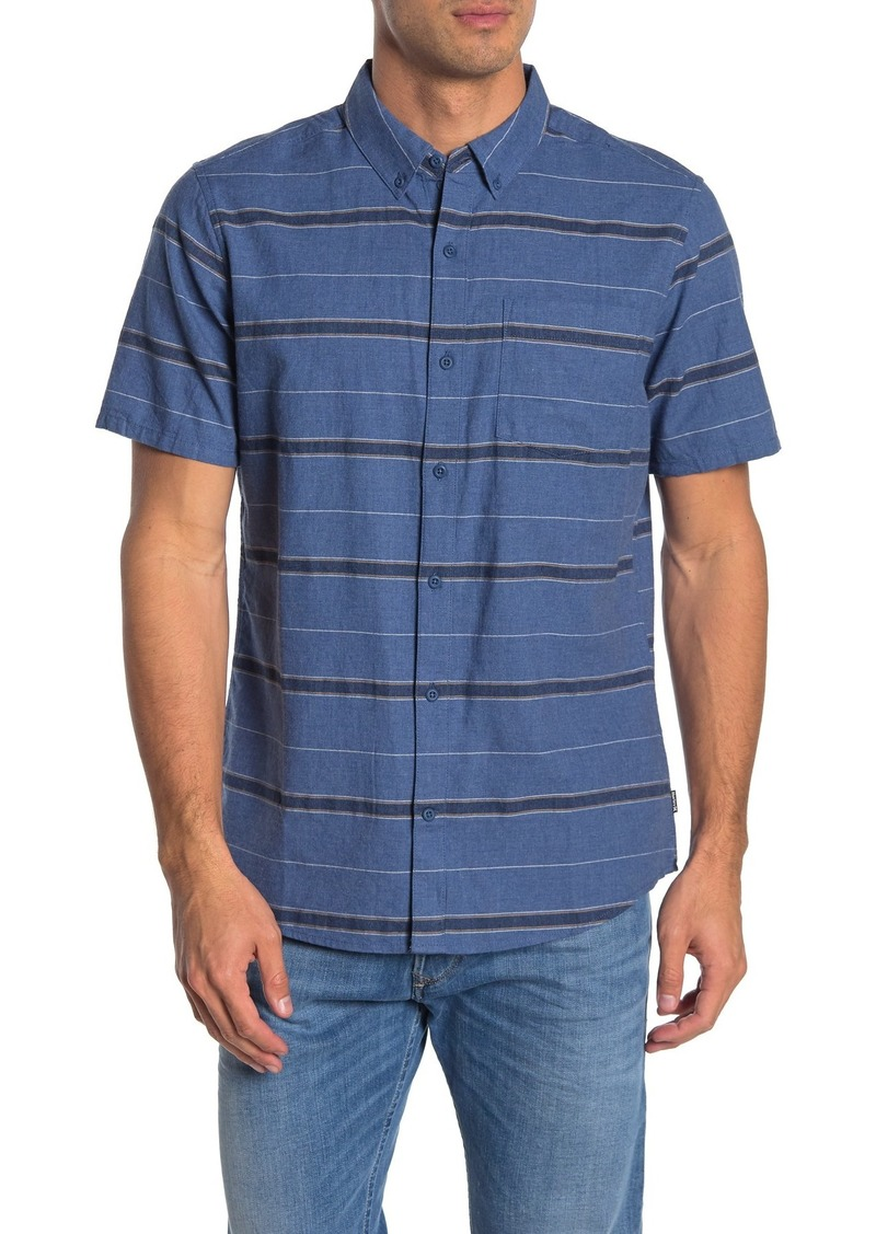 Hurley Thompson Stripe Classic Fit Shirt