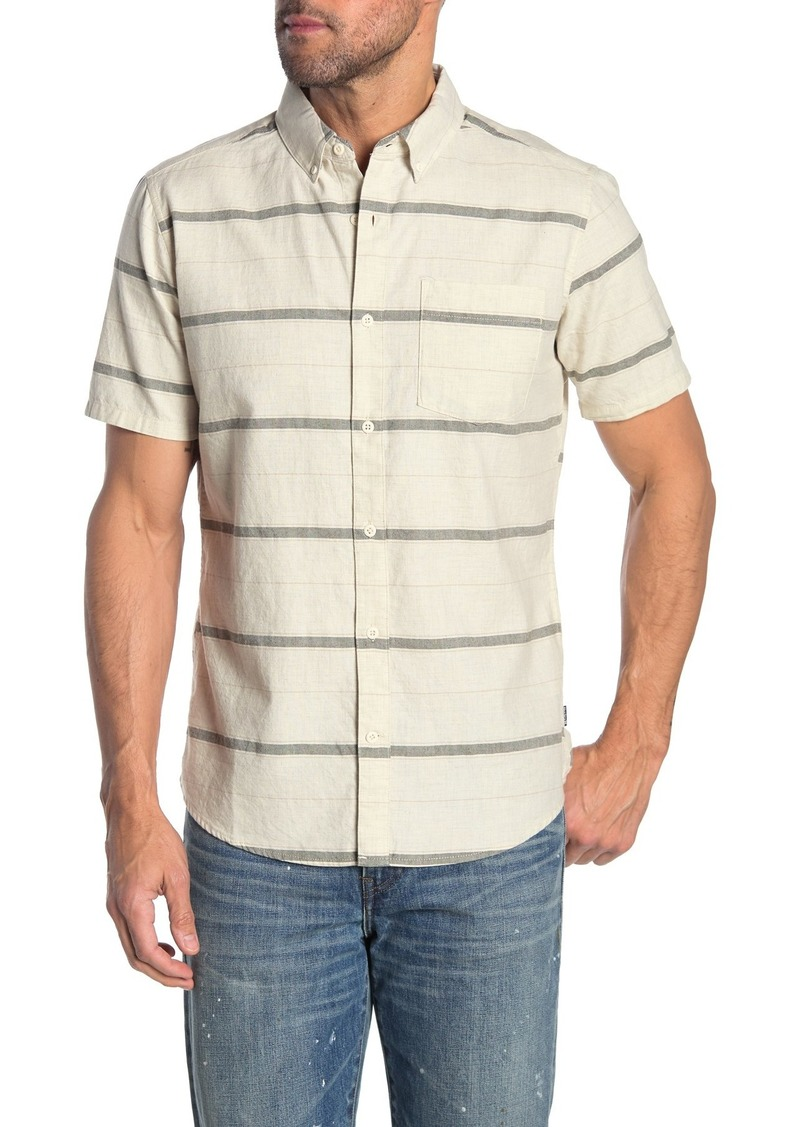 Hurley Thompson Stripe Classic Fit Shirt