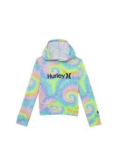 Hurley Tie-Dye French Terry Pullover Hoodie (Big Kids)