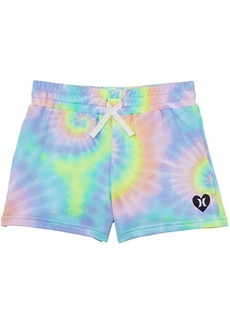 Hurley Tie-Dye French Terry Shorts (Big Kids)