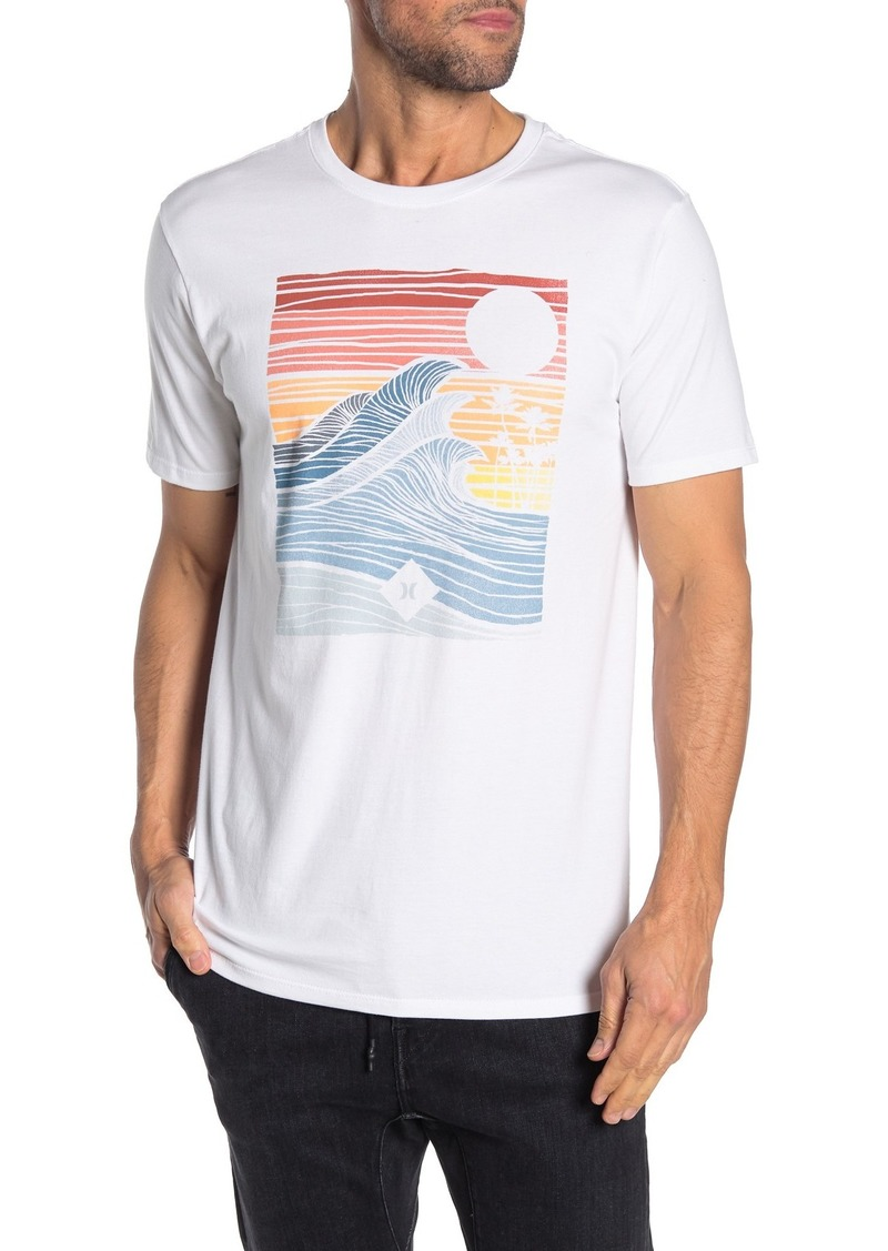 Hurley Tropic Graphic Short Sleeve T-Shirt
