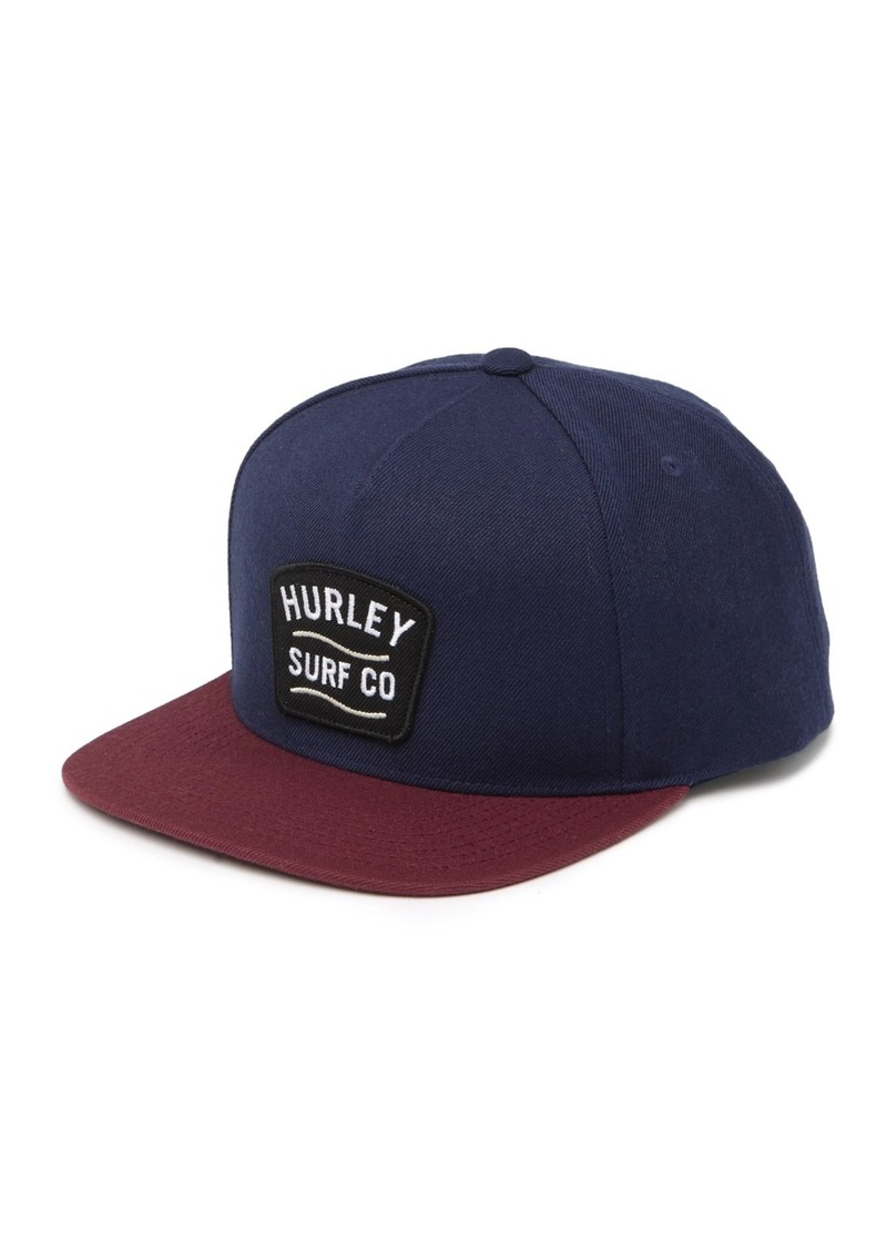Hurley Two-Tone Logo Patch Hat
