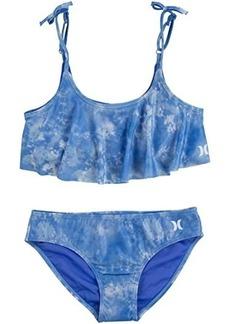 Hurley UPF 50+ Bikini Swimsuit Set (Big Kids)