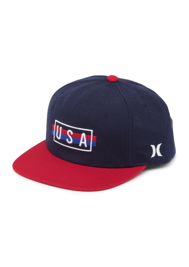 Hurley USA Snap Back Hat