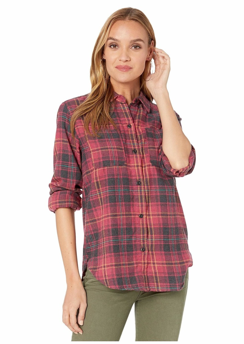 Hurley Wilson Plaid Long Sleeve