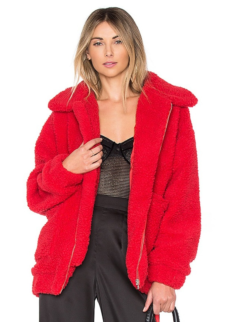 I.AM.GIA Pixie Pile Fleece Coat