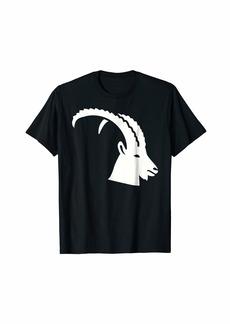Ibex head T-Shirt