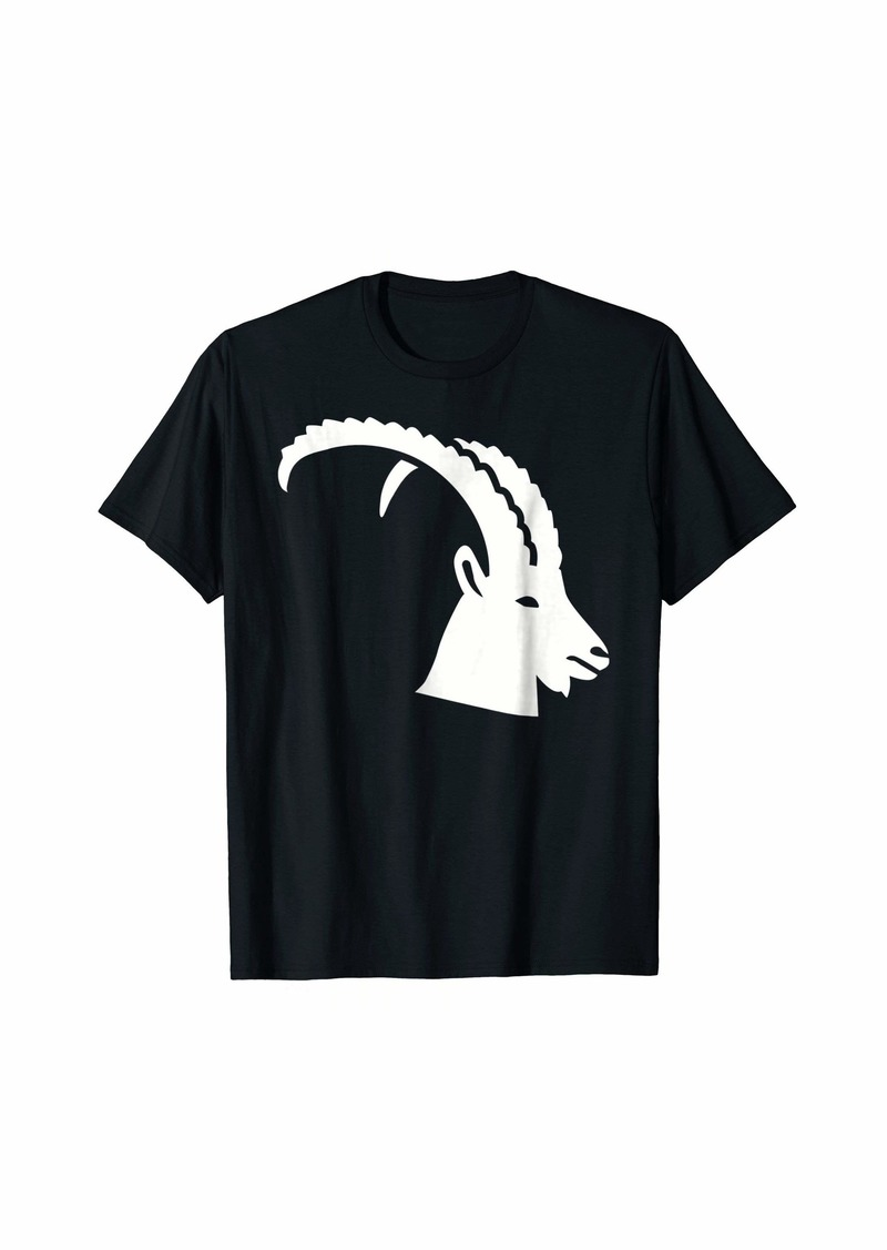 Ibex head T-Shirt