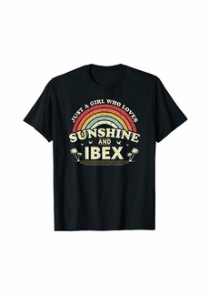 Ibex Shirt. Just A Girl Who Loves Sunshine And Ibex T-Shirt