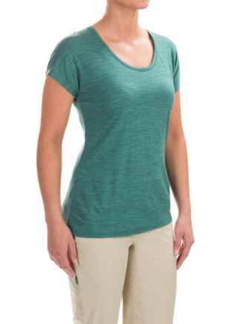 Ibex ibex sol t shirt merino wool short sleeve for for Merino wool shirt womens