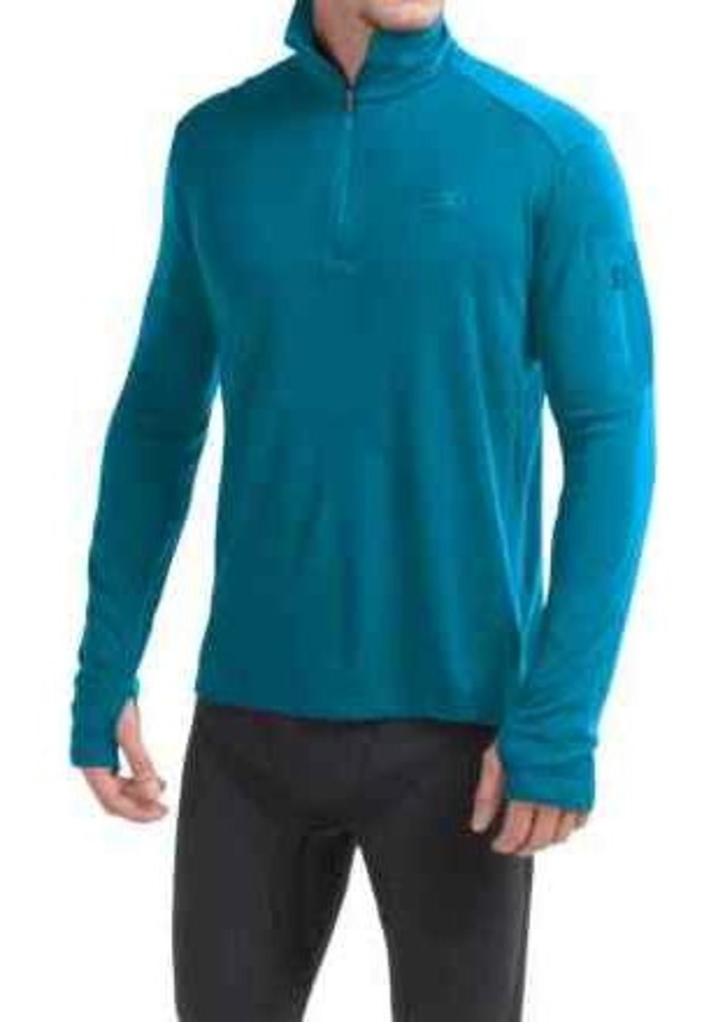 Icebreaker Bodyfit 260 Apex Zip Neck Shirt - UPF 30+, Merino Wool, Long Sleeve (For Men)