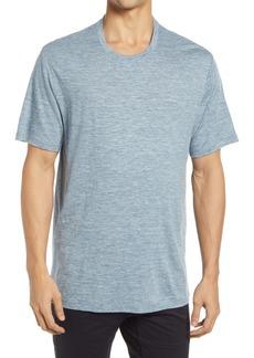 Icebreaker Dowlas Merino Wool & Linen Crewneck T-Shirt