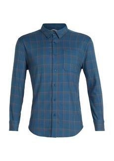 Icebreaker Men's Compass Flannel LS Shirt