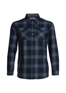 Icebreaker Men's Lodge LS Flannel Shirt