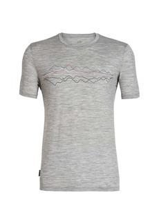 Icebreaker Men's Tech Lite SS Crewe Icebreaker Original Shirt