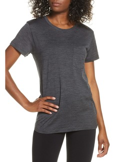 Icebreaker Ravyn Merino Wool Blend Pocket T-Shirt