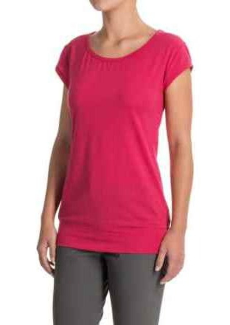 Icebreaker icebreaker sublime t shirt merino wool short for Merino wool shirt womens