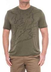 Icebreaker Tech Lite Finding the Way Shirt - Merino Wool, Short Sleeve (For Men)