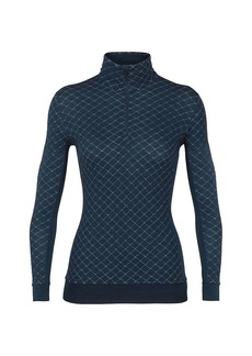 Icebreaker Women's Affinity Thermo LS Half Zip Top