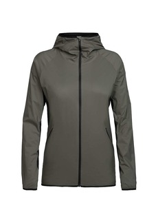 Icebreaker Women's Coriolis Hooded Windbreaker Jacket