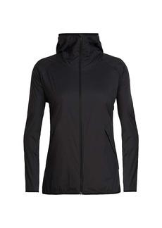 Icebreaker Women's Coriolis II Hooded Windbreaker Jacket