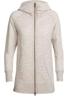Icebreaker Women's Dia Long Hooded Jacket