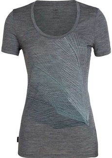 Icebreaker Women's Tech Lite SS Scoop Top Plume