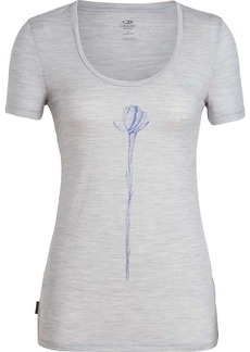 Icebreaker Women's Tech Lite SS Scoop Top Solo