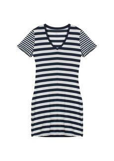 Icebreaker Women's Tech Lite SS V Stripe Dress