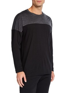 Icebreaker Men's Kinetica Colorblock Cool-Lite Performance Shirt