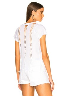 ICONS Braid Back Short Sleeve Tee