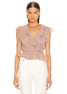 ICONS Objects of Devotion The Flutter Sleeve Blouse